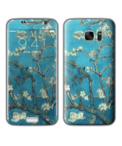Van Gogh - Branches with Almond Blossom - Samsung Galaxy S7 Skin