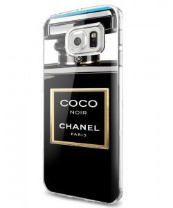 Coco Noir Perfume - Samsung Galaxy S7 Carcasa Silicon
