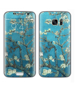 Van Gogh - Branches with Almond Blossom - Samsung Galaxy S7 Edge Skin