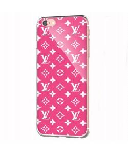 Louis Gone Pink - iPhone 6 Carcasa Transparenta Silicon