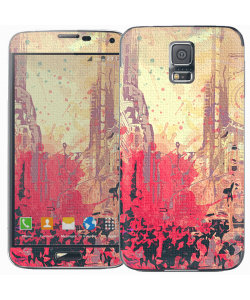 New York Time Square - Samsung Galaxy S5 Skin