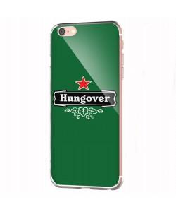 Hungover - iPhone 6 Carcasa Transparenta Silicon