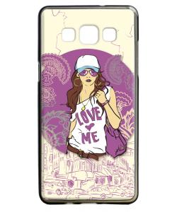 Love Me - Samsung Galaxy A5 Carcasa Silicon