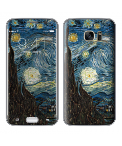 Van Gogh - Starry Night - Samsung Galaxy S7 Skin