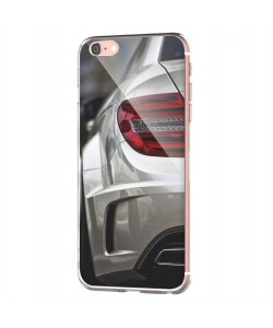 Mercedes C63 - iPhone 6 Carcasa Transparenta Silicon