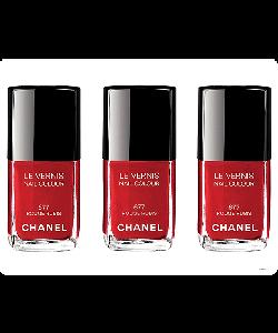 Chanel Rouge Rubis Nail Polish - Sony Xperia E1 Carcasa Neagra Silicon