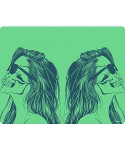 Skull Girl - Skin Telefon