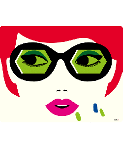 Redheaded Lady - Skin Telefon