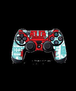 Red God - PS4 Dualshock Controller Skin