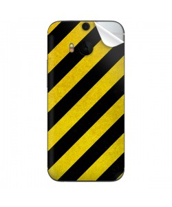 Caution - HTC One M8 Skin