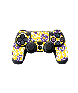 Purp n Yellow - PS4 Dualshock Controller Skin