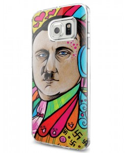 Hitler Meets Colors - Samsung Galaxy S7 Edge Carcasa Silicon
