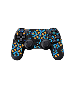 Negru - PS4 Dualshock Controller Skin