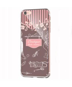 Boutique - iPhone 6 Carcasa Transparenta Silicon