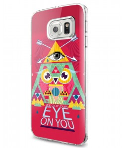 We Got Our Eye on You - Samsung Galaxy S7 Edge Carcasa Silicon