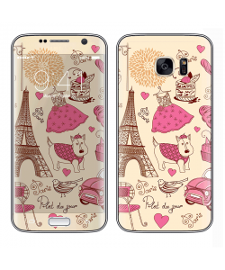 France - Samsung Galaxy S7 Edge Skin