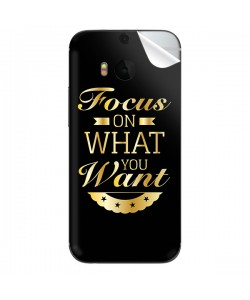 Focus - HTC One M8 Skin