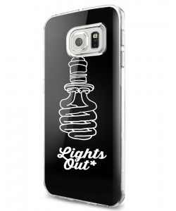Lights Out - Samsung Galaxy S7 Carcasa Silicon