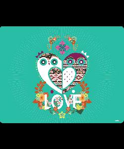 Owl Love - Huawei P10 Lite Carcasa Transparenta Silicon