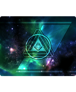Triangle Galaxy 2 - Huawei P10 / P10 Lite / P10 Plus Carcasa Transparenta Silicon
