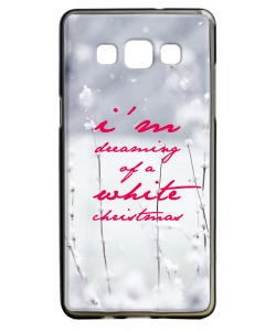 I'm Dreaming of a White Christmas - Samsung Galaxy A5 Carcasa Silicon