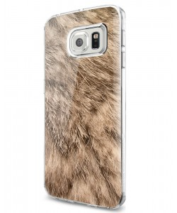 Rabbit Fur - Samsung Galaxy S7 Edge Carcasa Silicon