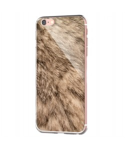 Rabbit Fur - iPhone 6 Carcasa Transparenta Silicon