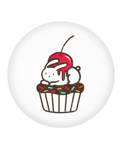 Popsocket Cherry Bunny, Accesoriu telefon