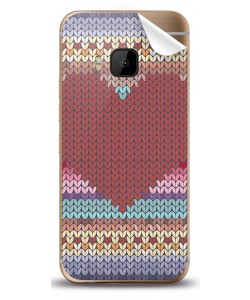Hearts and Tulips - HTC One M9 Skin