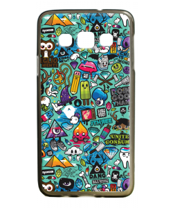 Urban Chaos - Samsung Galaxy A3 Carcasa Silicon Premium