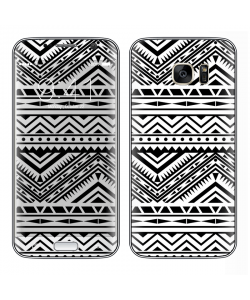Tribal Black & White - Samsung Galaxy S7 Edge Skin