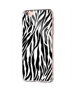 Zebra Labyrinth - iPhone 6 Carcasa Transparenta Silicon
