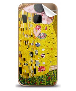 Gustav Klimt - The Kiss - HTC One M9 Skin