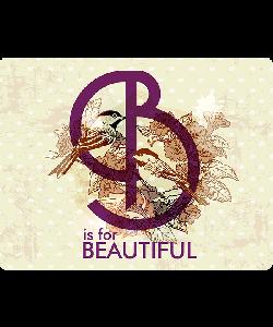 B is for Beautiful - iPhone 6 Plus Skin