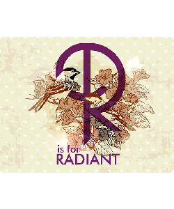 R is for Radiant - iPhone 6 Plus Skin