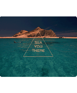 Sea you there - Samsung Galaxy S4 Carcasa Transparenta Silicon