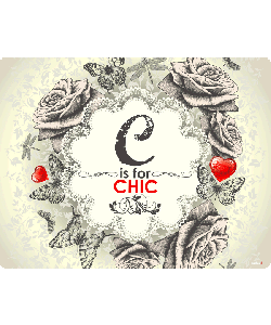 C is for Chic 2 - iPhone 6 Skin
