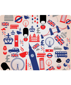 London Collage - Skin Telefon