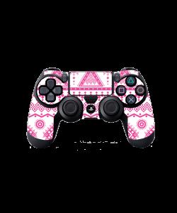 Pink Geometry - PS4 Dualshock Controller Skin