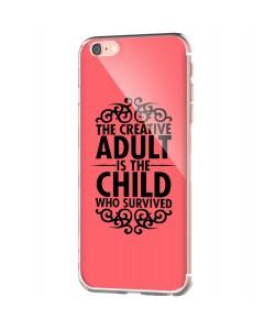 Creative Child - iPhone 6 Carcasa Transparenta Silicon