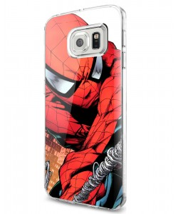 Spiderman - Samsung Galaxy S7 Edge Carcasa Silicon