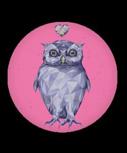 Popsocket I Love Owls, Accesoriu telefon