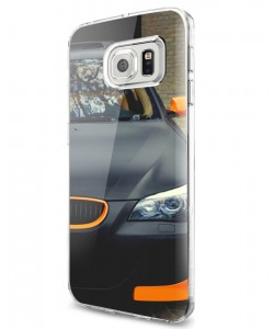 BMW - Samsung Galaxy S7 Edge Carcasa Silicon