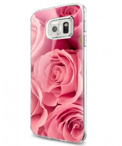 Roses are pink - Samsung Galaxy S7 Edge Carcasa Silicon