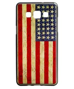 American Flag - Samsung Galaxy A5 Carcasa Silicon
