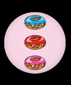 Popsocket Frosted Donuts, Accesoriu telefon