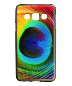 Peacock Feather - Samsung Galaxy A3 Carcasa Silicon Premium