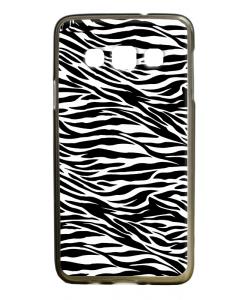 Zebra Labyrinth - Samsung Galaxy A3 Carcasa Silicon Premium