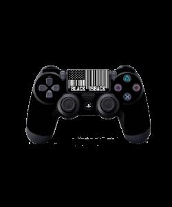 Black is Back - PS4 Dualshock Controller Skin