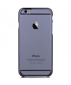 Glimmer Gun Black - Devia Carcasa iPhone 6 Plus (rama electroplacata)